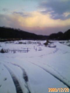 雪の大晦日☆